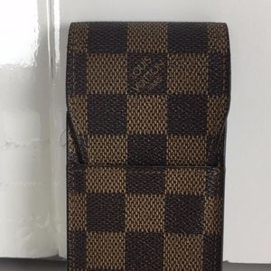 Louis Vuitton Damier Ebene Cigarette case 10502