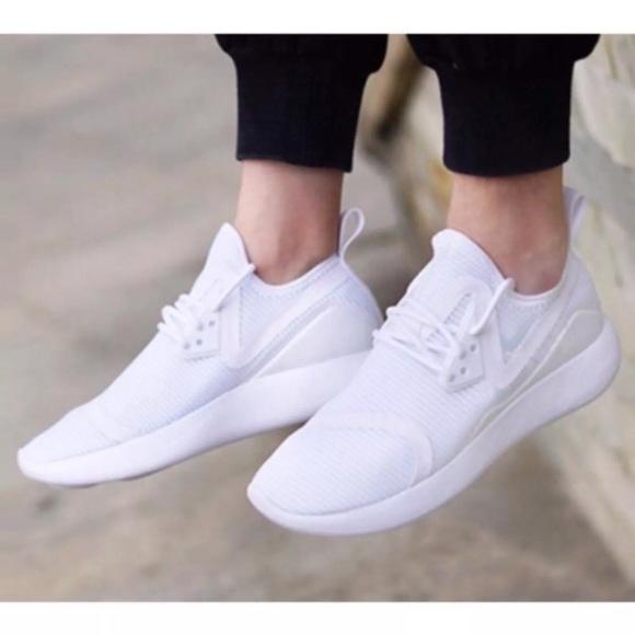 eae61821cd64c8 Women s Nike LunarCharge Breathe White Sneakers