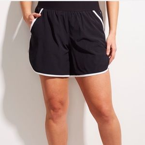 Lane Bryant Active Shorts Running Fitness 16 Plus