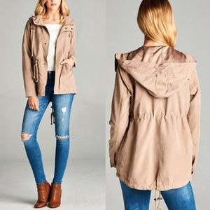 CHERISE Go-to Jacket - KHAKI