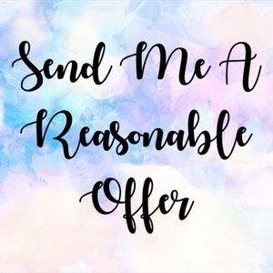 Other - 🌸Send Me A Reasonable Offer🌸