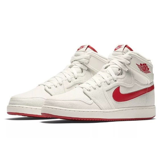 timeless design 63351 d59ac Nike Air Jordan 1 AJ1 KO High OG Red Retro Shoes