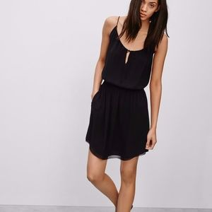 04506e12040 ... Babaton Bramwell Black Silk Dress ...