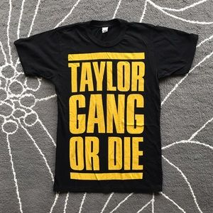 Tops - TGOD Taylor Gang or Die unisex tee shirt size S
