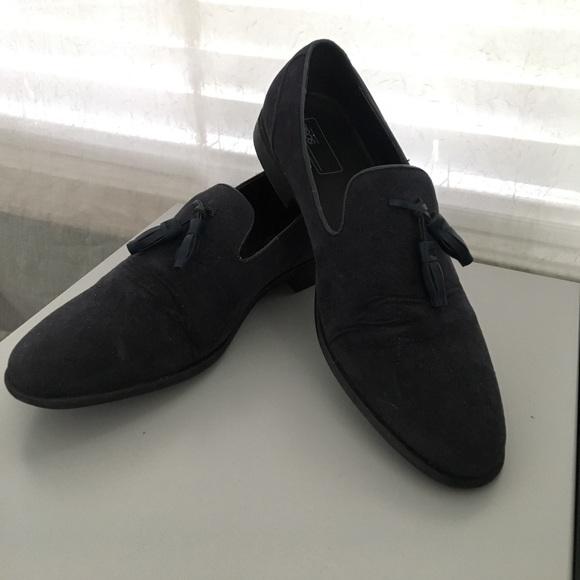 ASOS Shoes | Asos Navy Blue Suede