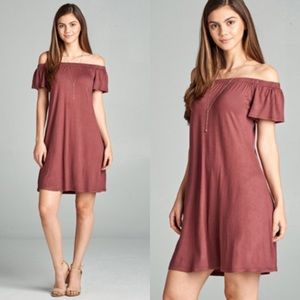 Dresses & Skirts - Off Shoulder Dress.