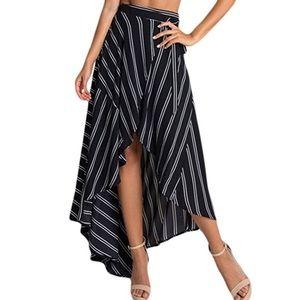 Dresses & Skirts - Asymmetrical Wrapped Skirt