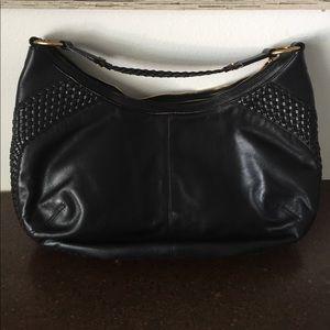 """Yves Saint Laurent """"YSL"""" all leather Shoulder bag"""