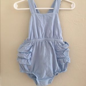 Alice + Ames Blue Romper 2T