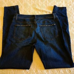 Sale Vanilla Star ankle super skinny jeans size 9