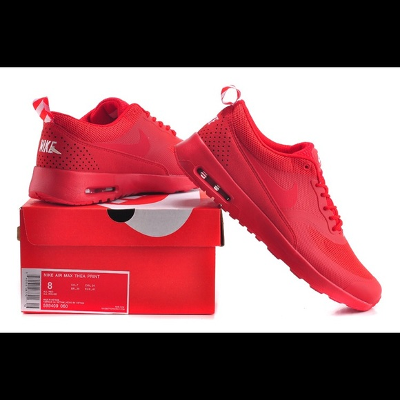 84f9123677 All Red Nike Air Max Thea (FINAL PRICE). M_5995e9a2b4188ee3be037db6