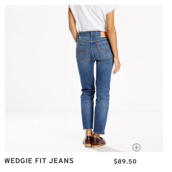 4193a4026de5c Levi's Jeans   Levis Wedgie Fit Coyote Desert Wash   Poshmark
