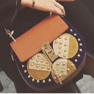 Handbags - GOLD Studded Crossbody