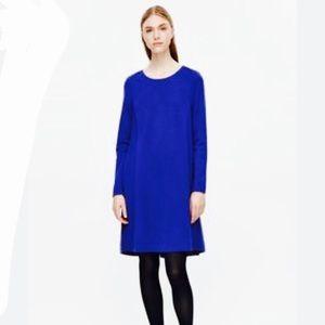COS - Jersey Sweater Dress w Cocoon skirt, XS