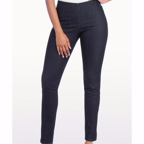 68ac8203357f1 NYDJ Jeans | Nwt Alina Poppy Pull On Legging In Dark | Poshmark