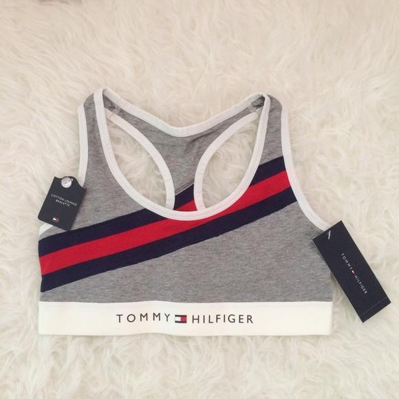 c485a156 Tommy Hilfiger Intimates & Sleepwear | Track Stripe Bralette | Poshmark
