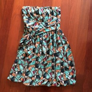 American Rag tribal printed dress