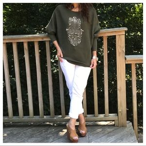 Sweaters - 🆕 Paris embellished sweater