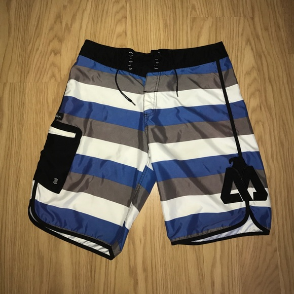 b830103918 Matix Swim | Striped Board Shorts | Poshmark