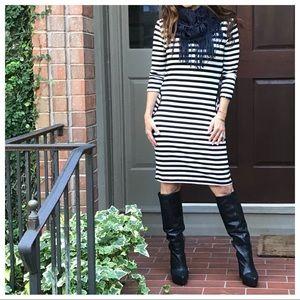 Dresses & Skirts - Side pocket striped midi dress