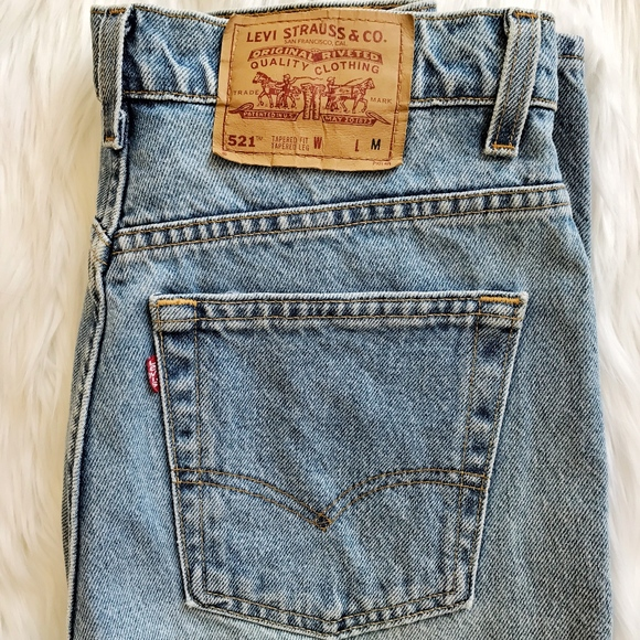 974cd6035b2dd Levis Denim - Vintage Levi s 521 high Waisted Jeans.