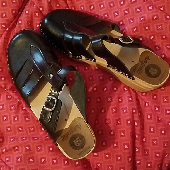 Troentorps Shoes - Black Troentorps clogs. Made in Sweden. Like new.