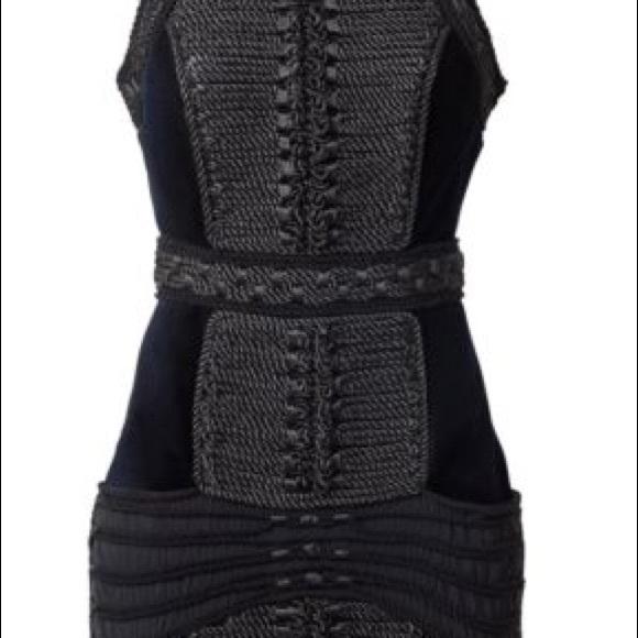 ddef75ceb68f Balmain Dresses   X Hm Velvet Rope Dress Eu38 Us8 Uk12   Poshmark