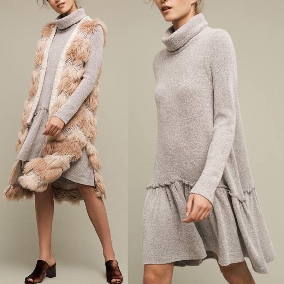 306945e402b7 Anthropologie Dresses | Moth Eira Sweater Dress | Poshmark