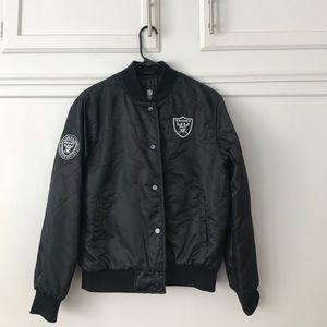 online store ba02d 20984 Raiders Bomber Jacket