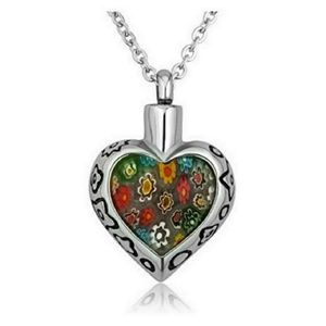 Jewelry - Heart Urn Necklace, Cremation