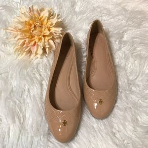 Tory Burch Kent Quilted Ballet Flat Shoes