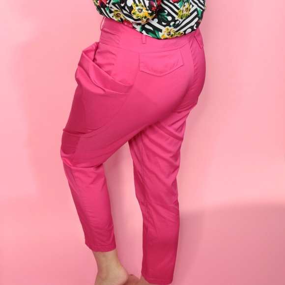 Ya Los Angeles Pants - Bright Pink Trousers