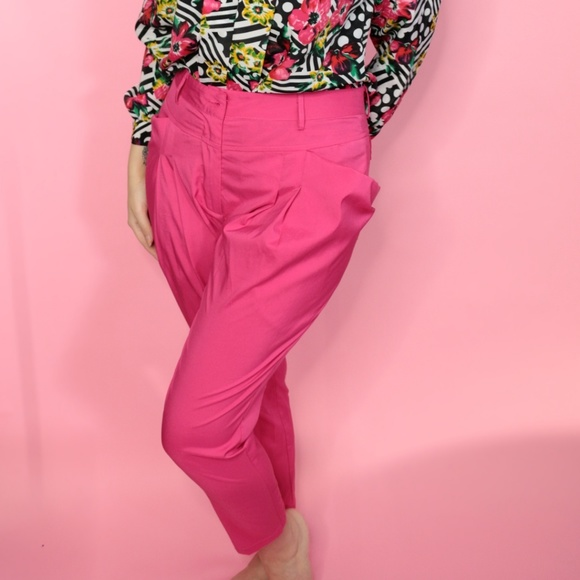 Ya Los Angeles Pants - Bright Pink Trousers