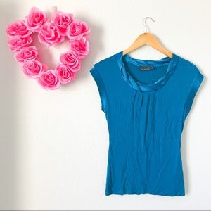 The Limited Teal Work Top
