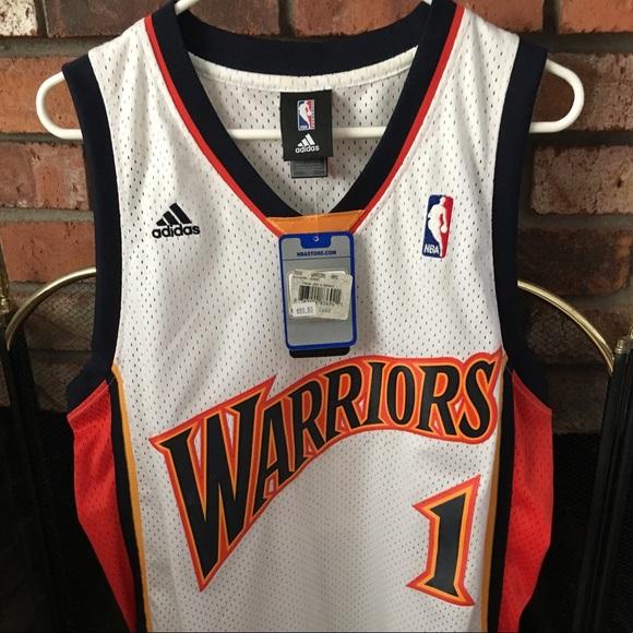 bb204e56f Vtg Classic Adidas Stephen Jackson Warriors Jersey
