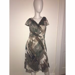 Coldwater Creek Olive Dress Sz 6