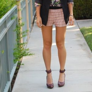Forever 21 Shorts - Like NEW Forever21 adorable trendy ruffle shorts