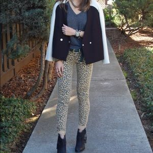 Like NEW H&M skinny leopard printed pants