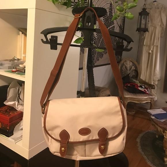 3760601266 Longchamp Handbags - Longchamp nylon w/leather trim crossbody bag