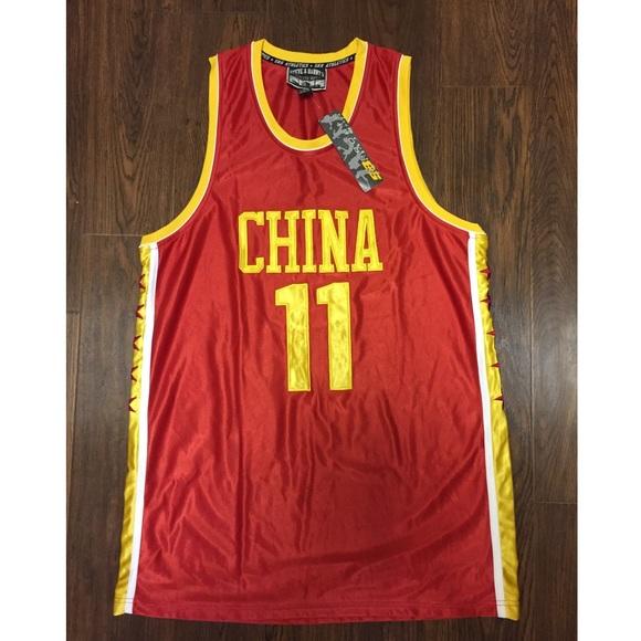 cd114c13b126 RARE Steve   Barry s CHINA Men s Basketball Jersey