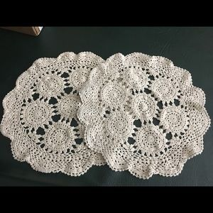 Other - Set of 2 lace dowries