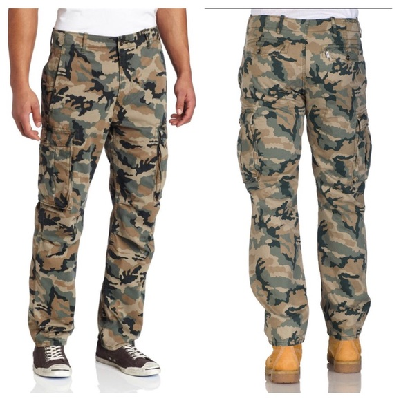 c661cc65 Levi's Pants | New Mens Levis Camo Cargo Relaxed Fit | Poshmark