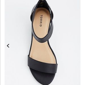 4cb2d84f816 torrid Shoes - Double strap mini wedge (wide width)
