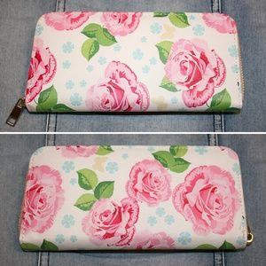 Handbags - Super Cute Floral Wallet NWOT