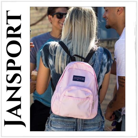 Jansport Pink Mist Half-Pint Back Pack 2872ea0198306