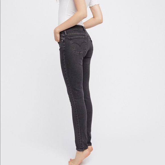 aaea1f2d70df Levi's Jeans   Levis 711 Skinny Black Dove 30   Poshmark