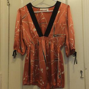 Yumi Kim Silk Kimono Top