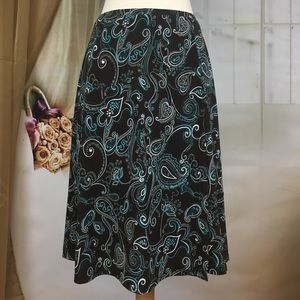 George Brown Paisley Print Skirt