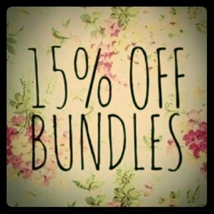 📦 Bundle & Save📦 15% off 2 or more items📦