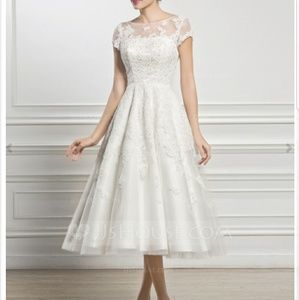 Dresses & Skirts - Brand new with tags -  vintage style wedding dress